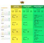 Djembe Singapore Club 2019 Class Schedule