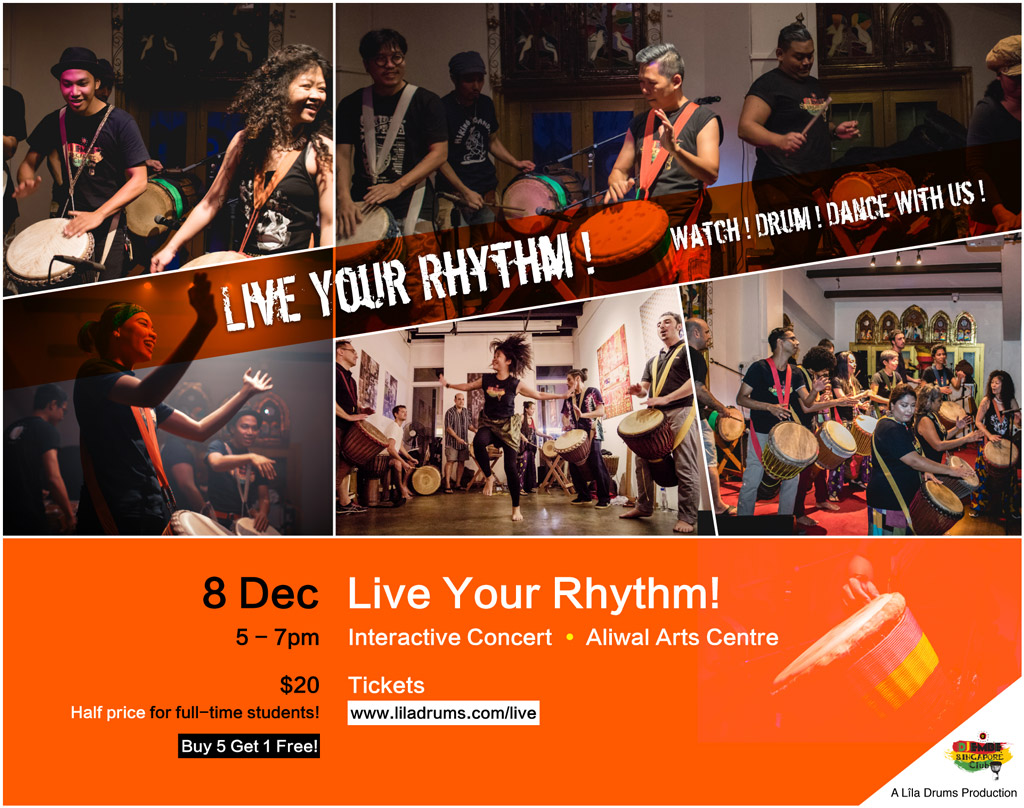 Live Your Rhythm!