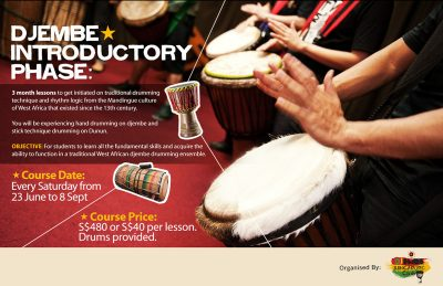 Djembe Introductory Phase