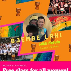 Djembe Lah! Women's Day Special