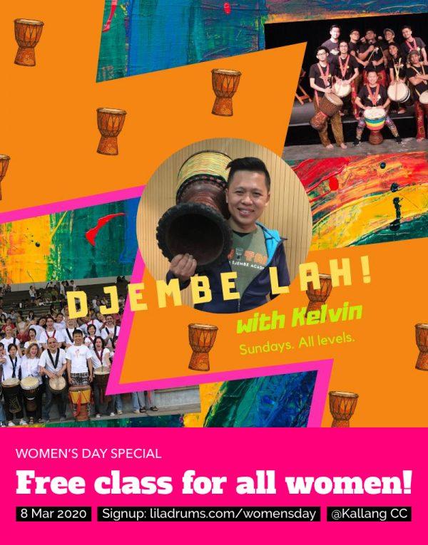 Djembe Lah! Women's Day Special