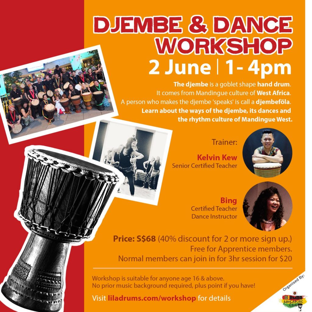 Djembe & Dance Workshop